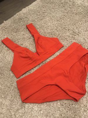 & other stories Bikini orange-red