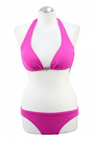 Bikini-Set in Neon-Pink