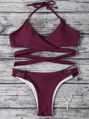 Bikini-Set Purplish Red NEU Gr. S