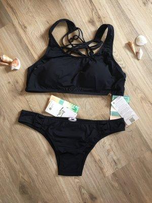Bikini Set schwarz Gr.L