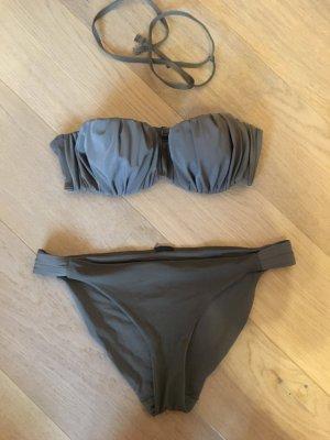 H&M Bikini green grey-olive green