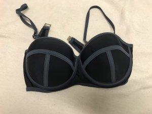 Bikini nero-grigio
