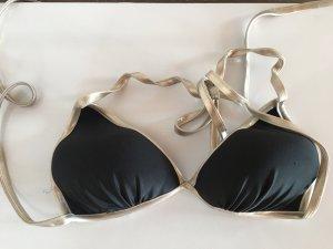 Bikini goud-zwart