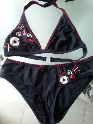 "Bikini von Disneys ""The Nightmare before Christmas"" S/M schwarz"