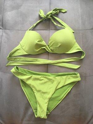 Bikini von H&M in grün Größe 36