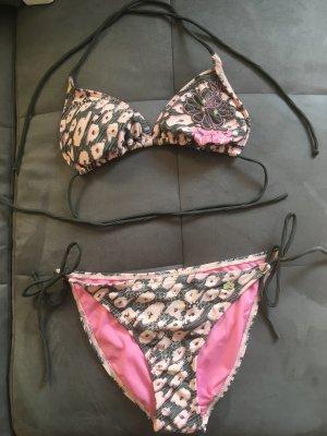 Bikini von Protest in rosé mit Leomuster Größe 38