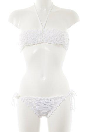 Bikini weiß Beach-Look