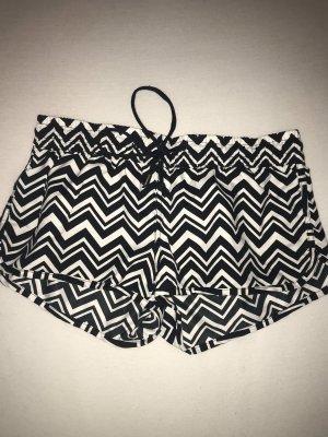 Forever 21 Swimming Trunk black-white