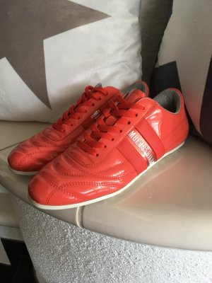 Bikkembergs Lace-Up Sneaker salmon