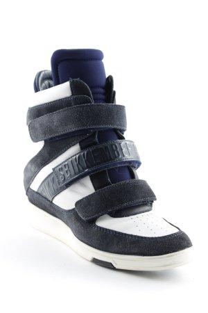 Bikkembergs Absatz Sneaker dunkelblau-weiß sportlicher Stil