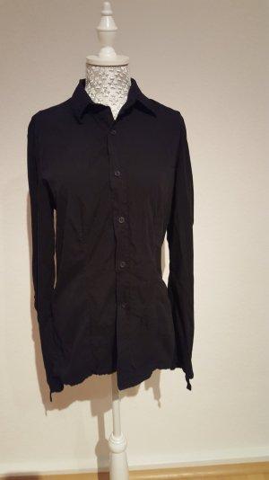 Bikkembergs Bluse Hemd schwarz Gr L