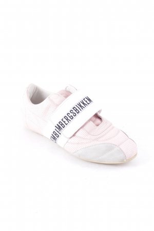 Bikkembergs Halbschuhe rosa sportlicher Stil