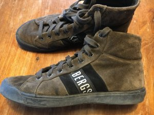 Bikkembergs Nubuk Leder Sneaker High Top 38
