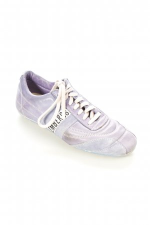 Bikkembergs Lace Shoes purple athletic style