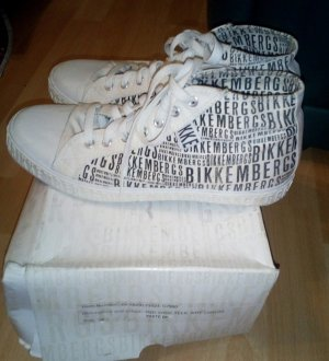 Bikkembergs High Top Sneaker white-black