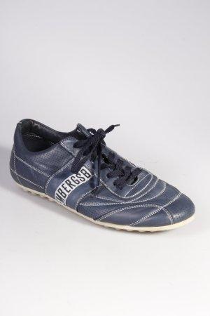 Sneaker stringata blu scuro