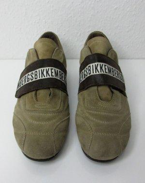 BIKKEMBERGS Sneaker Gr. 38 braun Logo