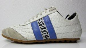 BIKKEMBERGS Sneaker Gr. 39 lila/weiss Logo