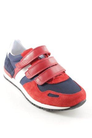Bikkembergs Zapatillas con velcro rojo-azul oscuro look casual