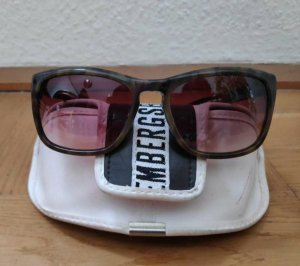 Bikkembergs Oval Sunglasses brown