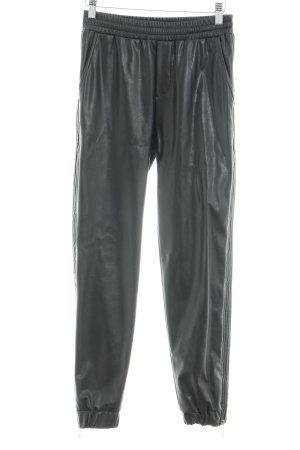 Bikkembergs Jersey Pants black Ornamental zipper