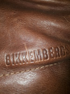 Bikkembergs Fur Boots dark brown leather