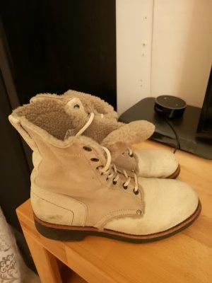 Bikkembergs Laarzen licht beige
