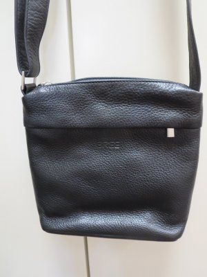 Bildschöne schwarze Rindsledertasche der Fa Bree