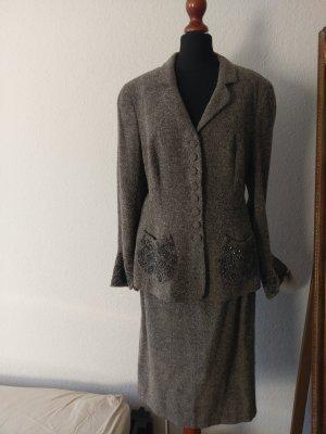 Rena Lange Midi-jurk veelkleurig Wol