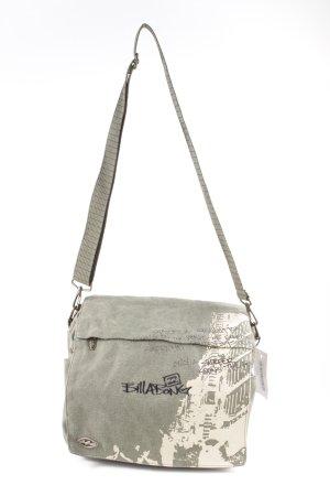 billa bong Sac porté épaule kaki imprimé avec thème style simple