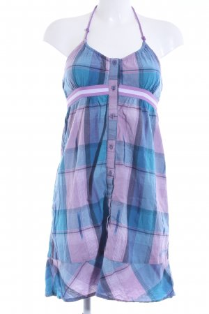 Billabong A Line Dress check pattern country style