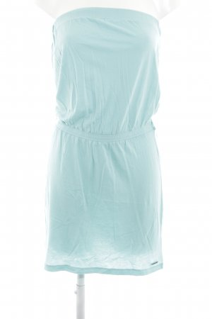 Billabong Bandeau Dress turquoise casual look