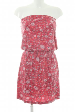 Billabong Bandeaukleid Blumenmuster Bleached-Optik