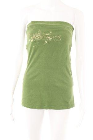 Billabong Haut bandeau vert style décontracté