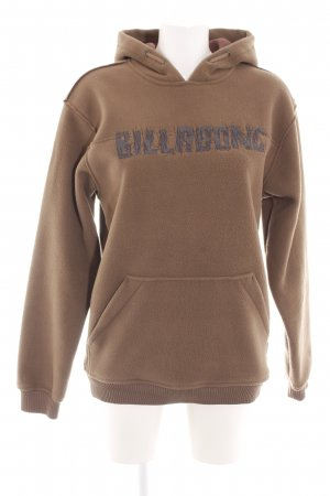 Billabong Fleece Jumper brown casual look