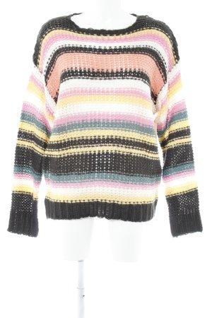 Billabong Pullover a maglia grossa motivo a righe stile casual