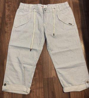 Billabong Pantalon 3/4 blanc cassé-bleu azur