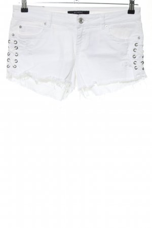 Billabong Denim Shorts white casual look