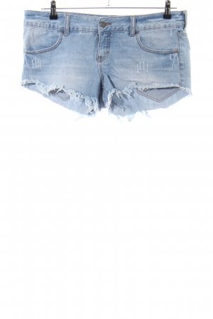 Billabong Denim Shorts blue street-fashion look