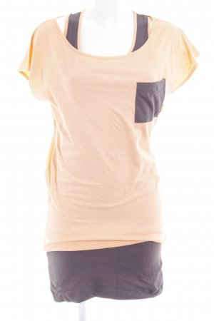 Billabong Jerseykleid apricot-taupe Casual-Look