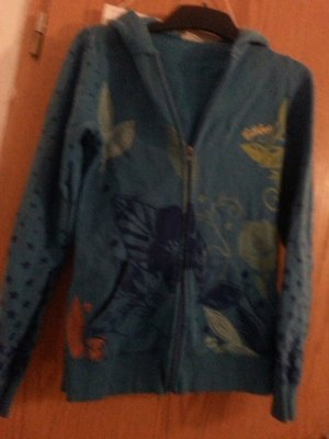 Billabong Veste sweat bleu fluo