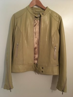 Billabong Leather Jacket cream