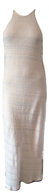 Billabong Long Beige Knit Dress