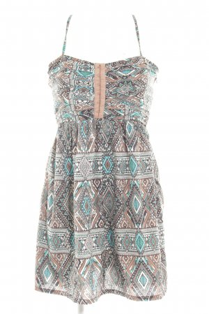 Billabong Minikleid abstraktes Muster Boho-Look