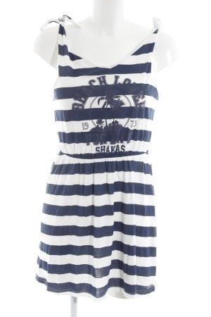 Billabong Minikleid weiß-dunkelblau Casual-Look
