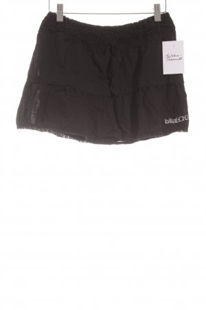 Billabong Minirock schwarz Casual-Look