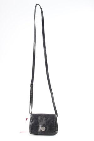 Billabong Mini sac noir Mélange de motifs style décontracté