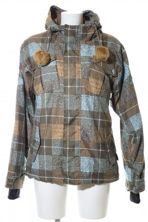 Billabong Outdoor Jacket check pattern casual look