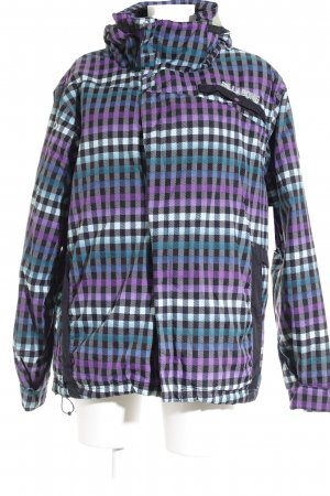 Billabong Outdoor Jacket check pattern athletic style