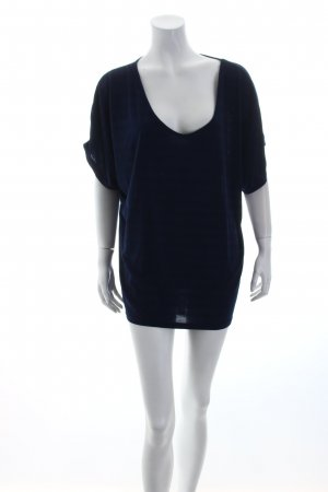 Billabong Oversized Shirt dunkelblau Streifenmuster sportlicher Stil